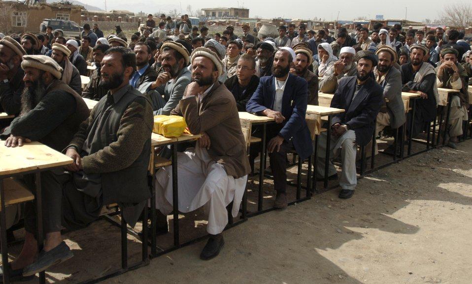 Bagram PRT rebuilds Afghanistan one school at a time