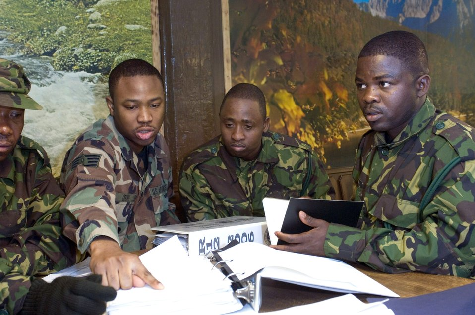 Botswana Defense Force visit