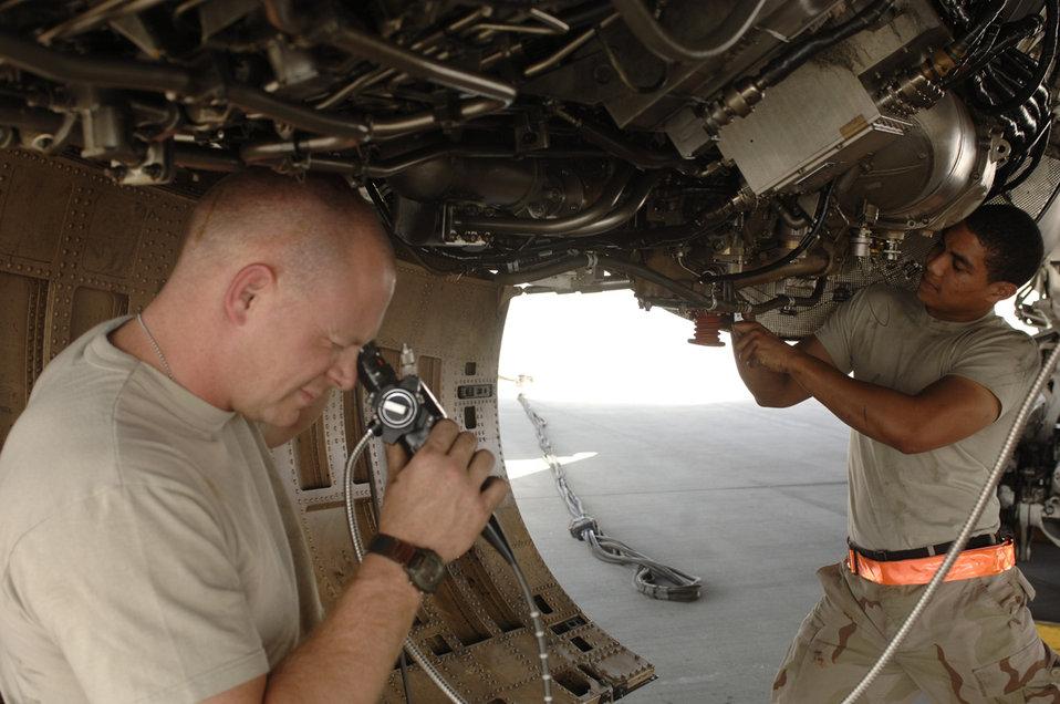 Bomber inspection