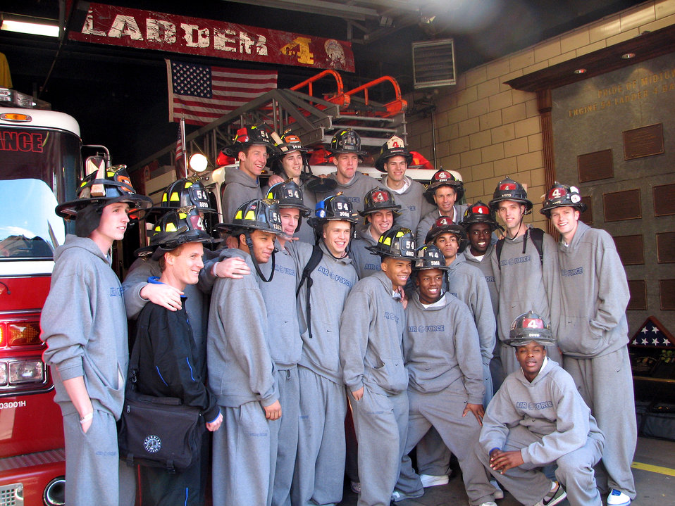 Academy Falcons tour New York
