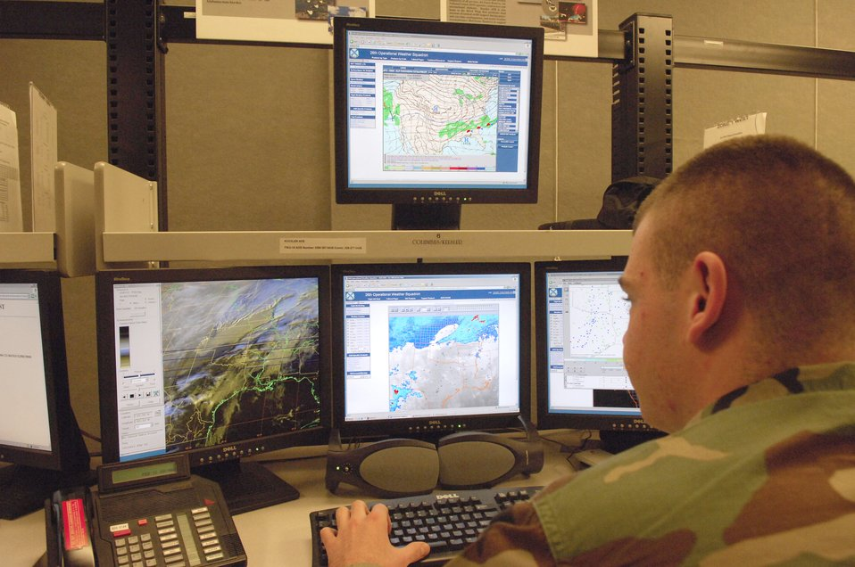 Weather squadron keeps eyes on the sky