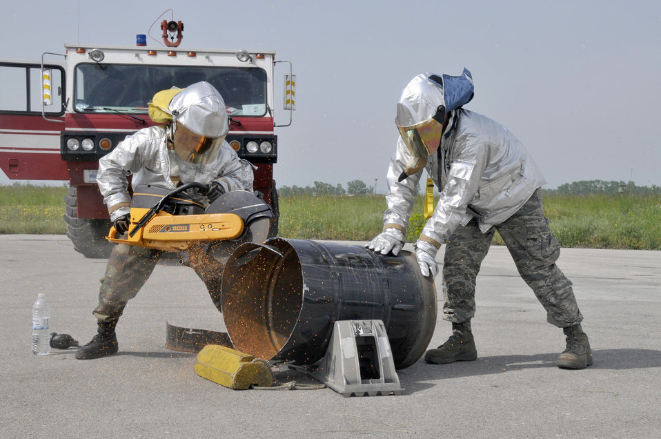 U.S. and Bulgarian airmen train together