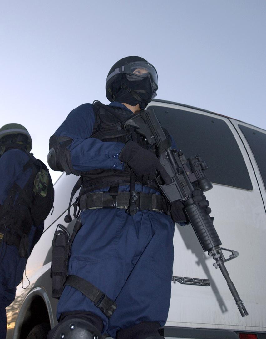 Hostage negotiation exercise