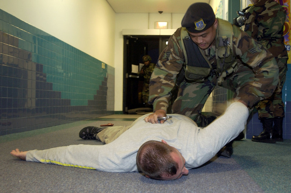 Hostage negotiation exercise
