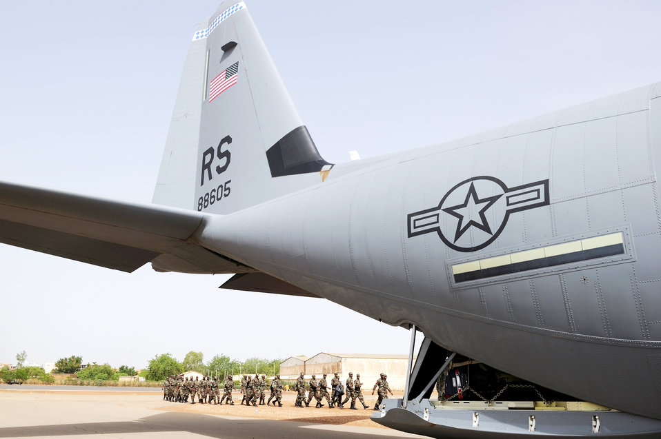Airmen support Air Forces Africa in exercise