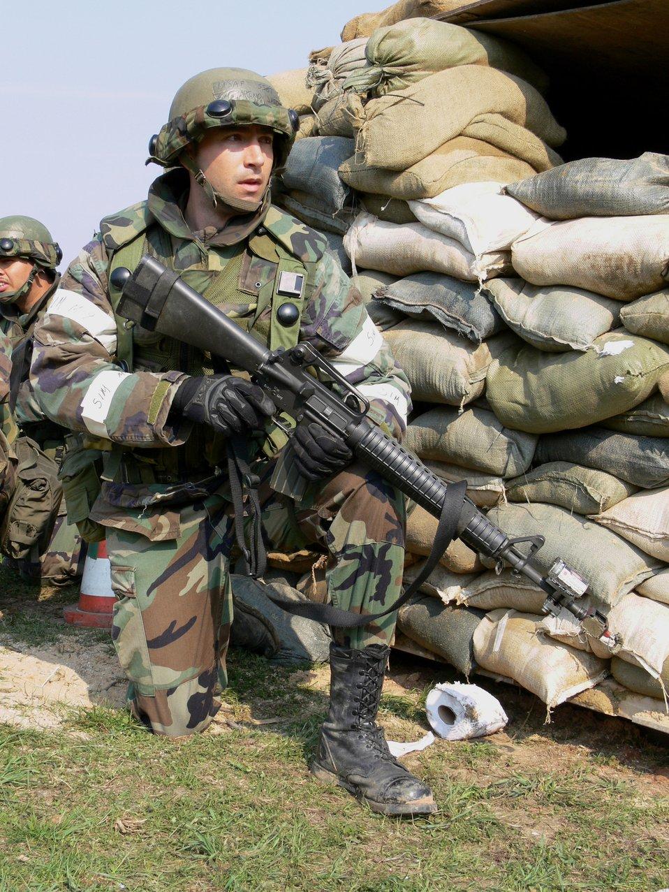 Combat comm Airmen hone skills in field training