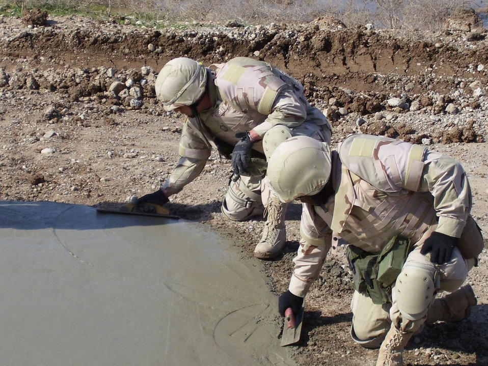 Civil engineers help rebuild Iraq