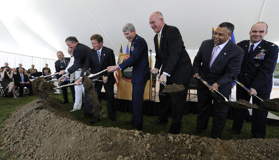 Fisher House Groundbreaking at Dover