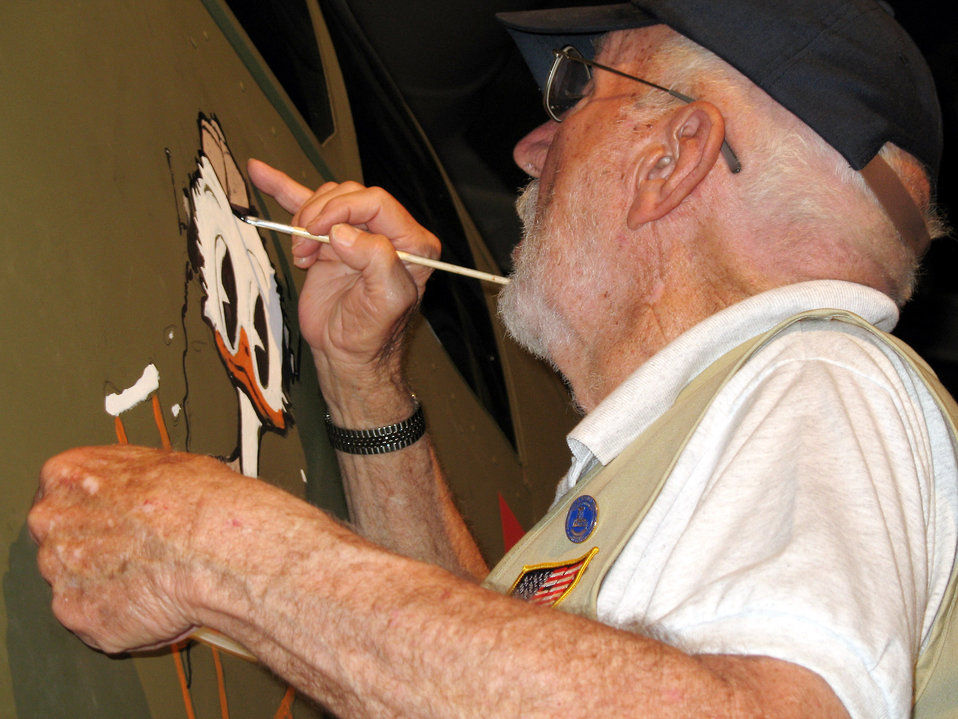 WWII veteran's artwork lives on at museum