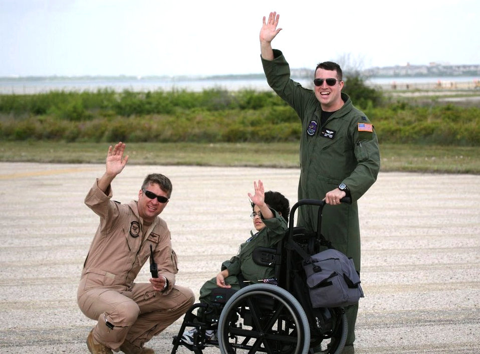 Pilot for a Day at Barksdale AFB