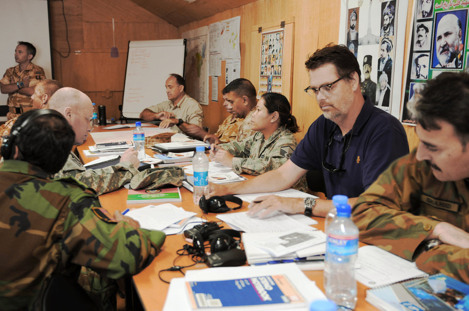 'AfPak Hands' members begin immersion training