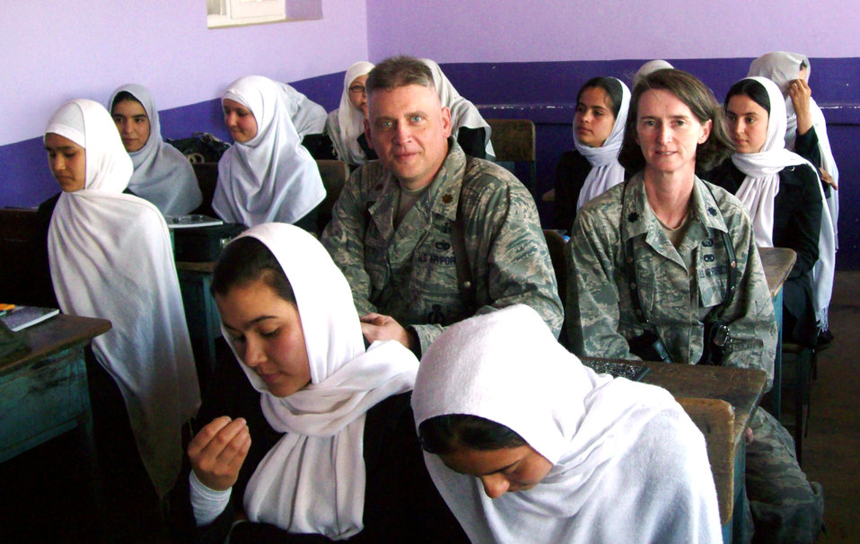 Airman contributes to advancement of Afghan women