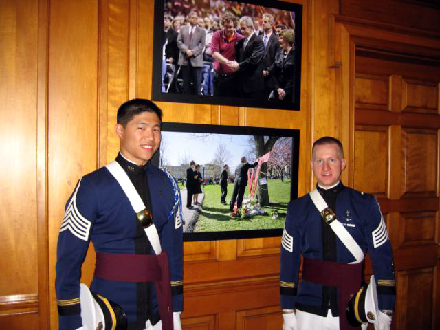 Virginia Tech cadets participate in National Day of Prayer