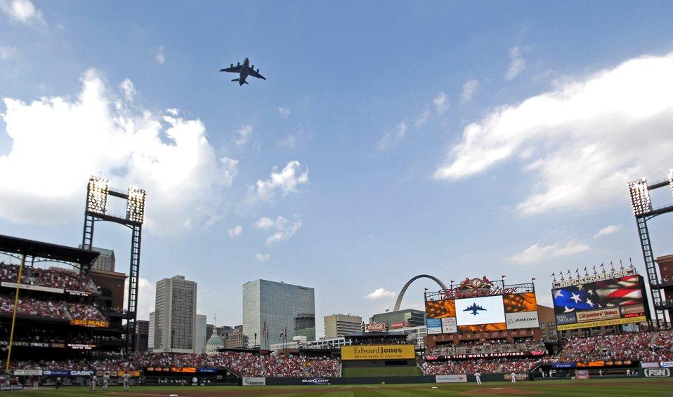 Air Force week in St. Louis