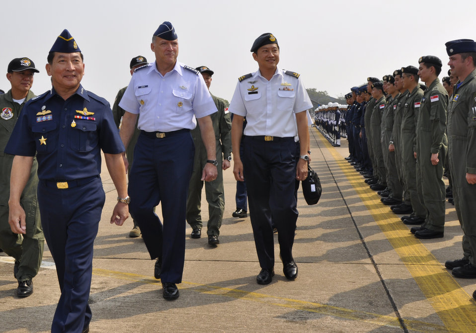 Pacific partners close Cope Tiger with ceremony