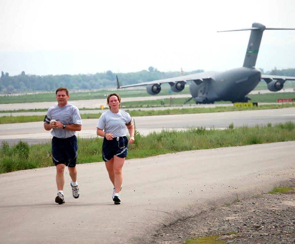 A world away, Airmen enjoy hometown tradition