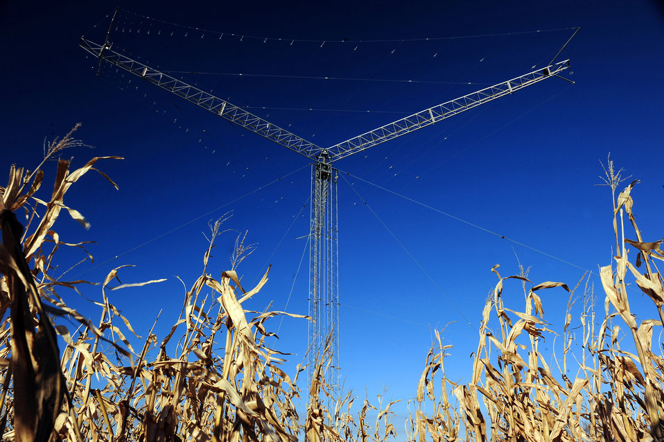 Rural communications site has global mission
