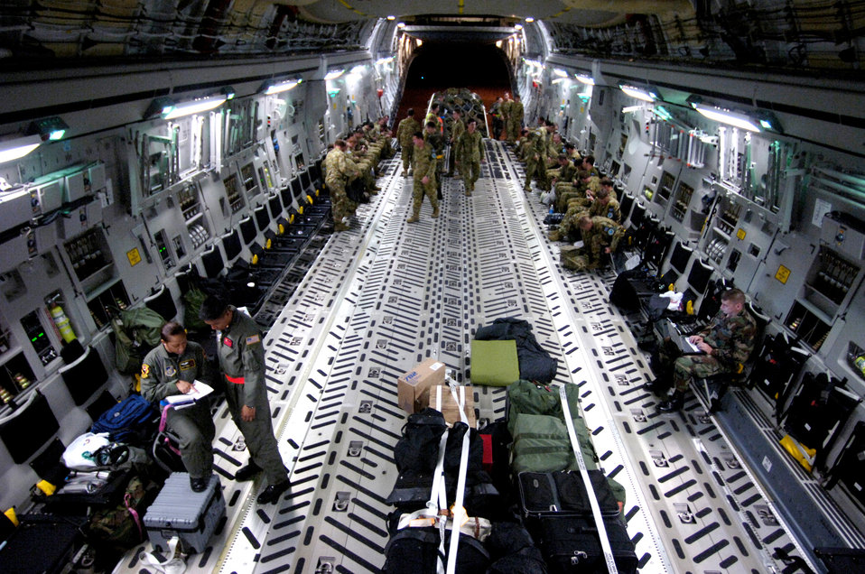 Loadmasters help reposition Australian Defense Forces
