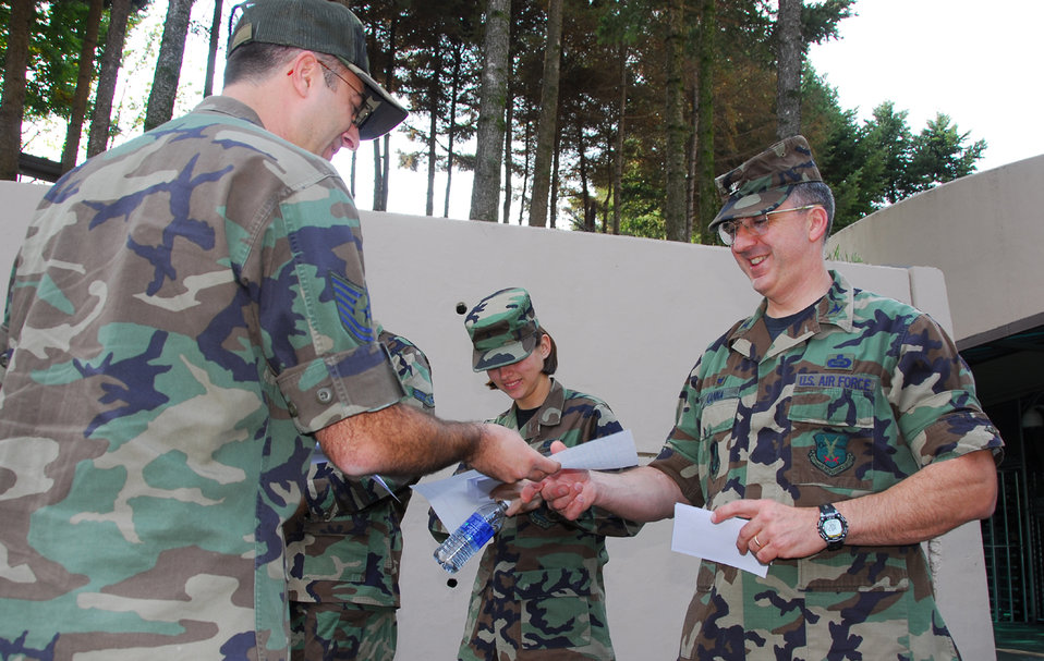 By the letter: Airmen help students by being pen pals