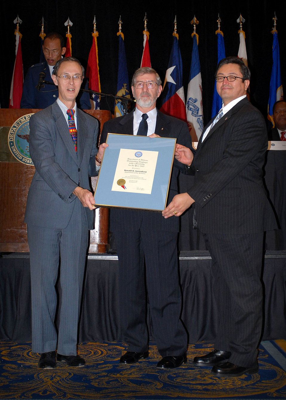 Air Force receives 2 DOD disability awards