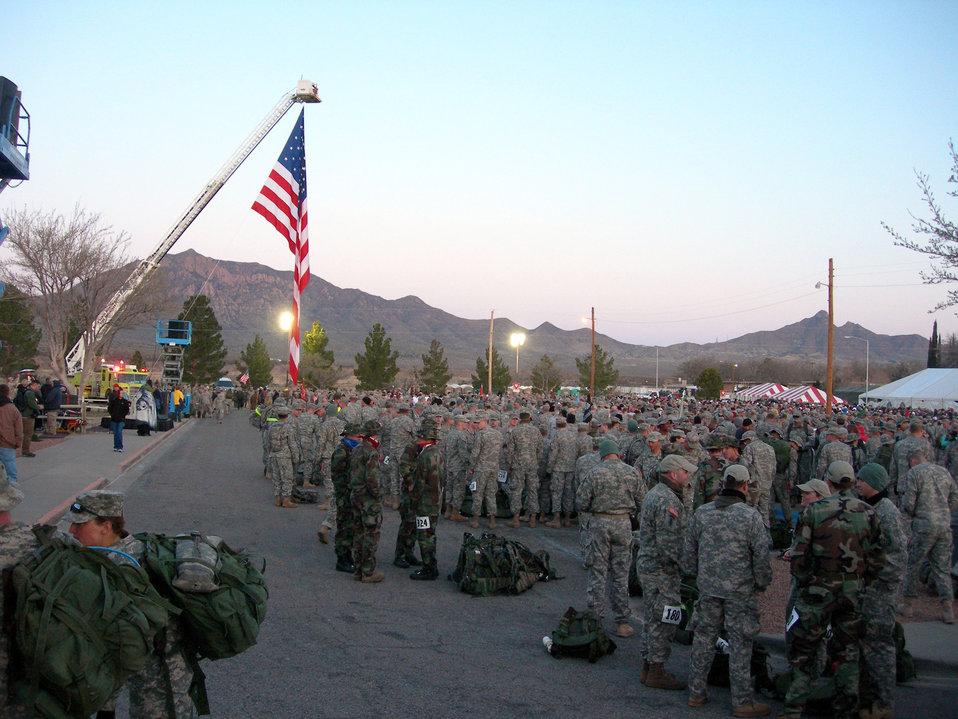 Luke Airmen honor Bataan march