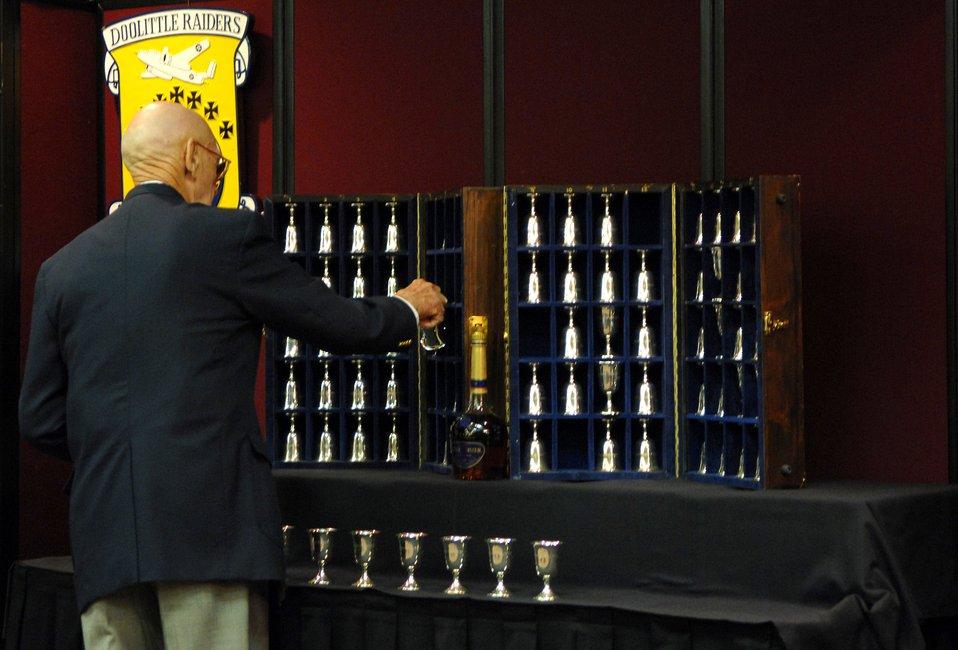 Raider goblet ceremony