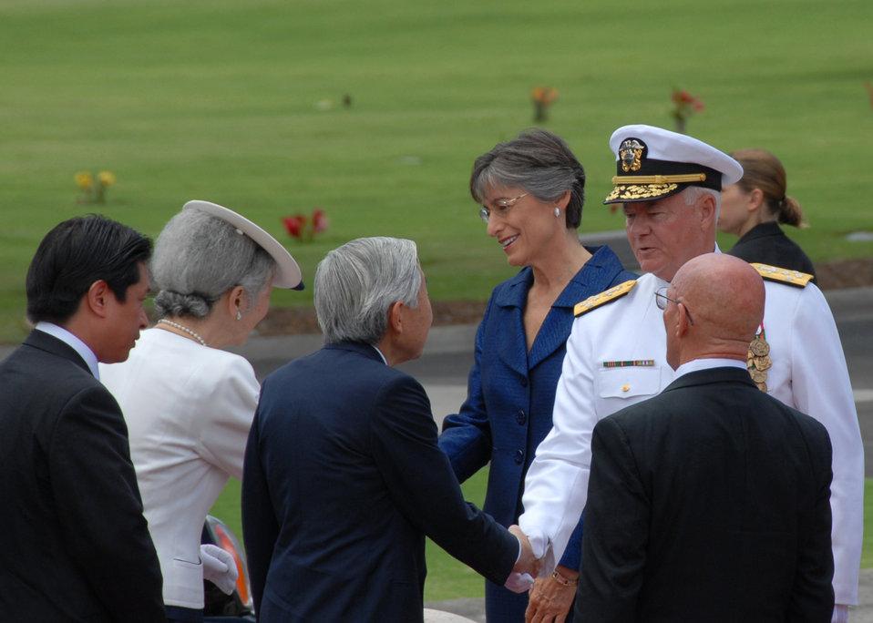 Japanese royalty honors America's fallen