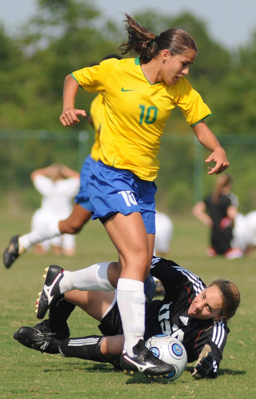 Brazil wins World Military Women's Soccer Championship at Keesler