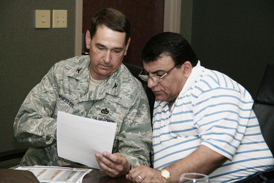 Iraqi senior engineers visit Langley