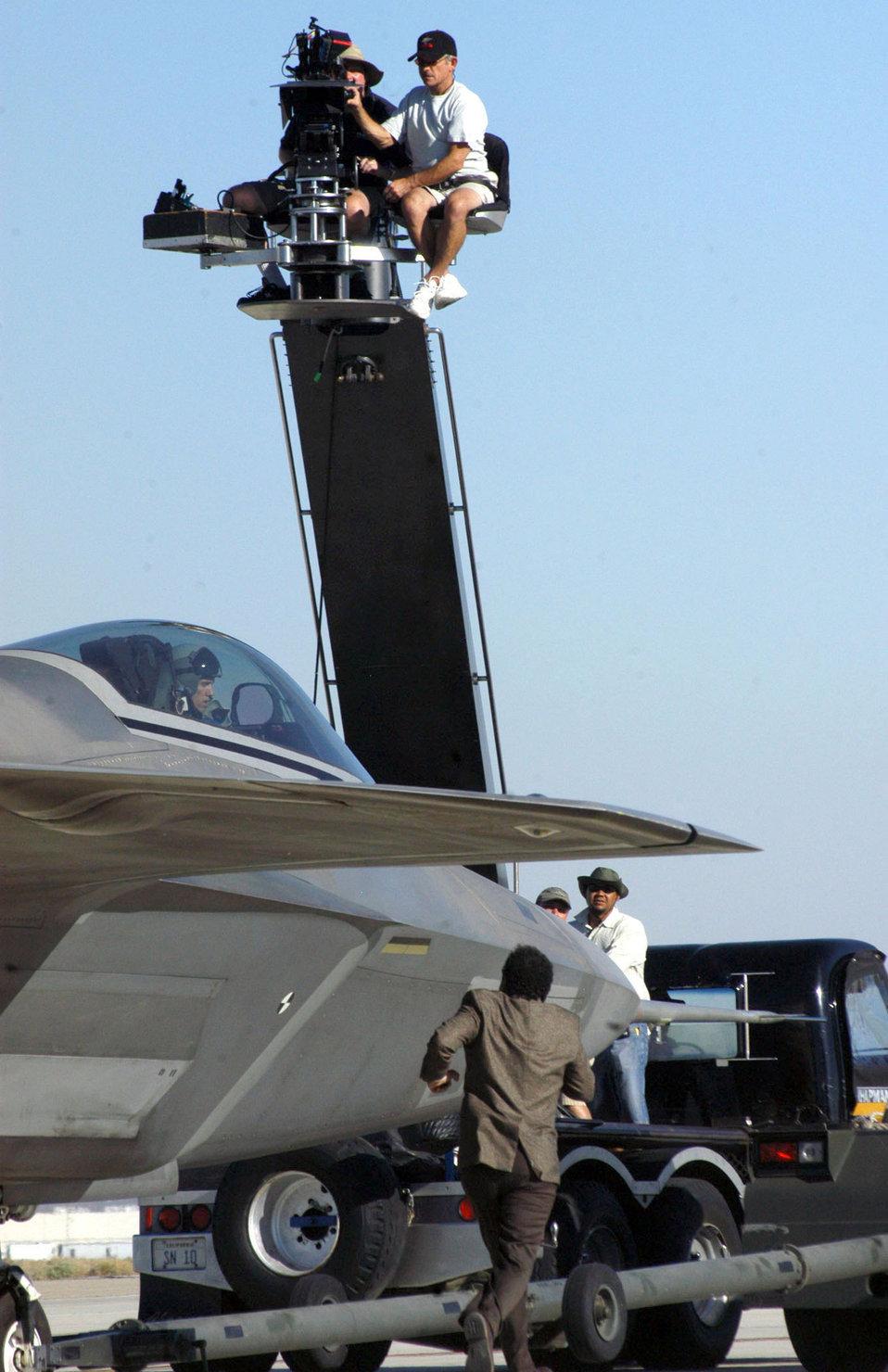 Edwards Airmen help 'Monk' solve mystery