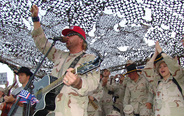 USO brings taste of America to troops