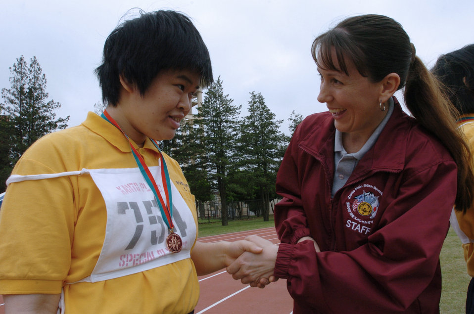 Special Olympics brings joy to Yokota volunteers