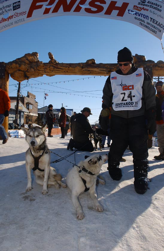 Elmendorf Airman finishes Iditarod
