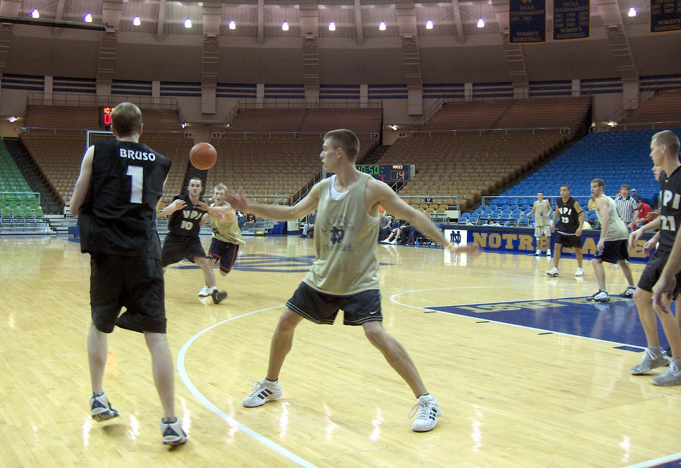 56 teams compete at ROTC basketball tourney