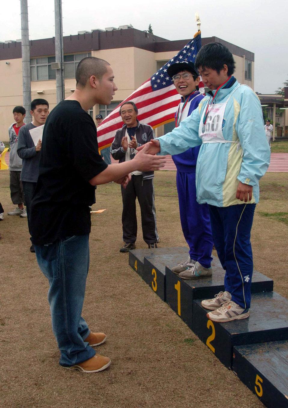 Special Olympics at Yokota