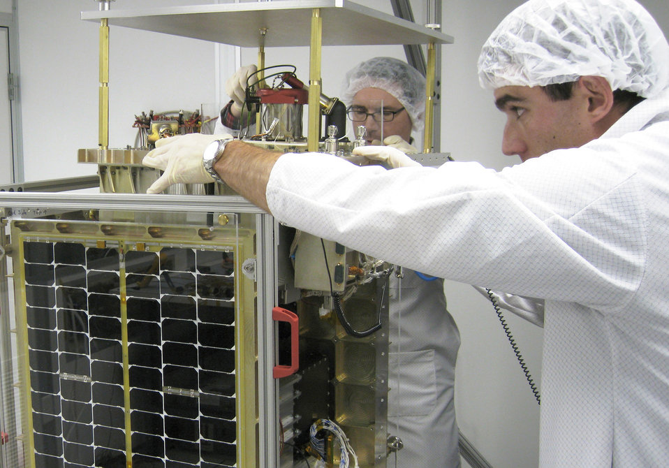 Cadet-built satellite to launch Nov. 19