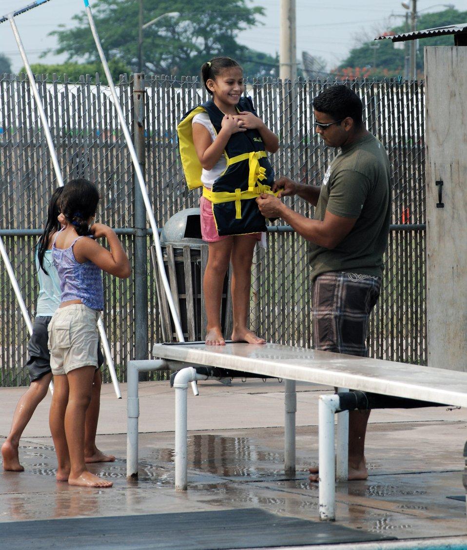 Airmen in Honduras host special day for local children