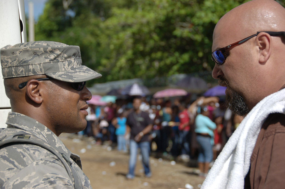 Medics provide care to people in Dominican Republic