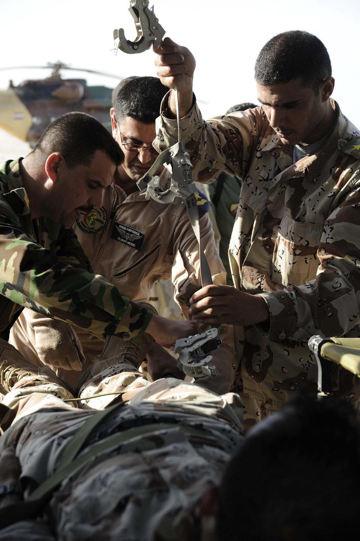 Air Force flight surgeons train Iraqi counterparts