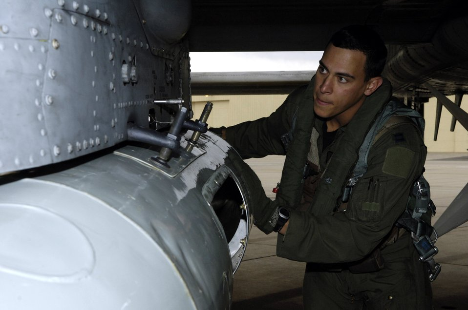 Taking an A-10 from pre-flight to flight