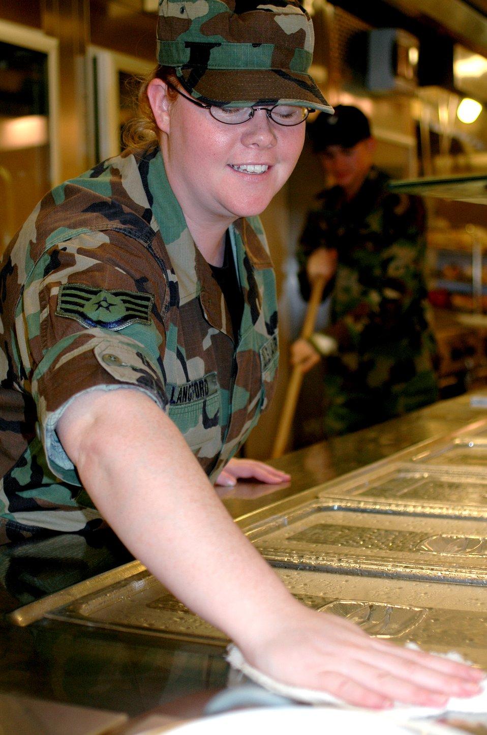 Serving Airmen