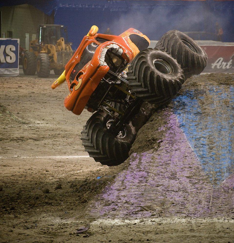 AF flies high at Monster Jam