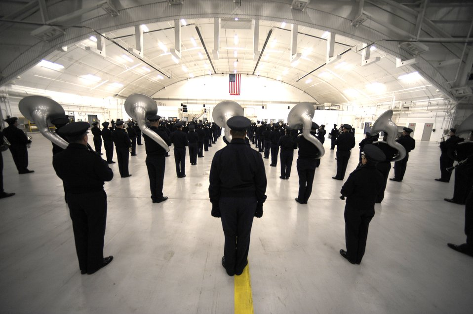 Air Force Band prepares for inauguration day