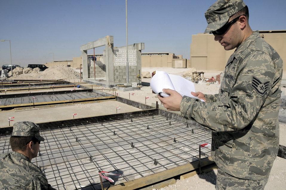 Airmen procure mission success
