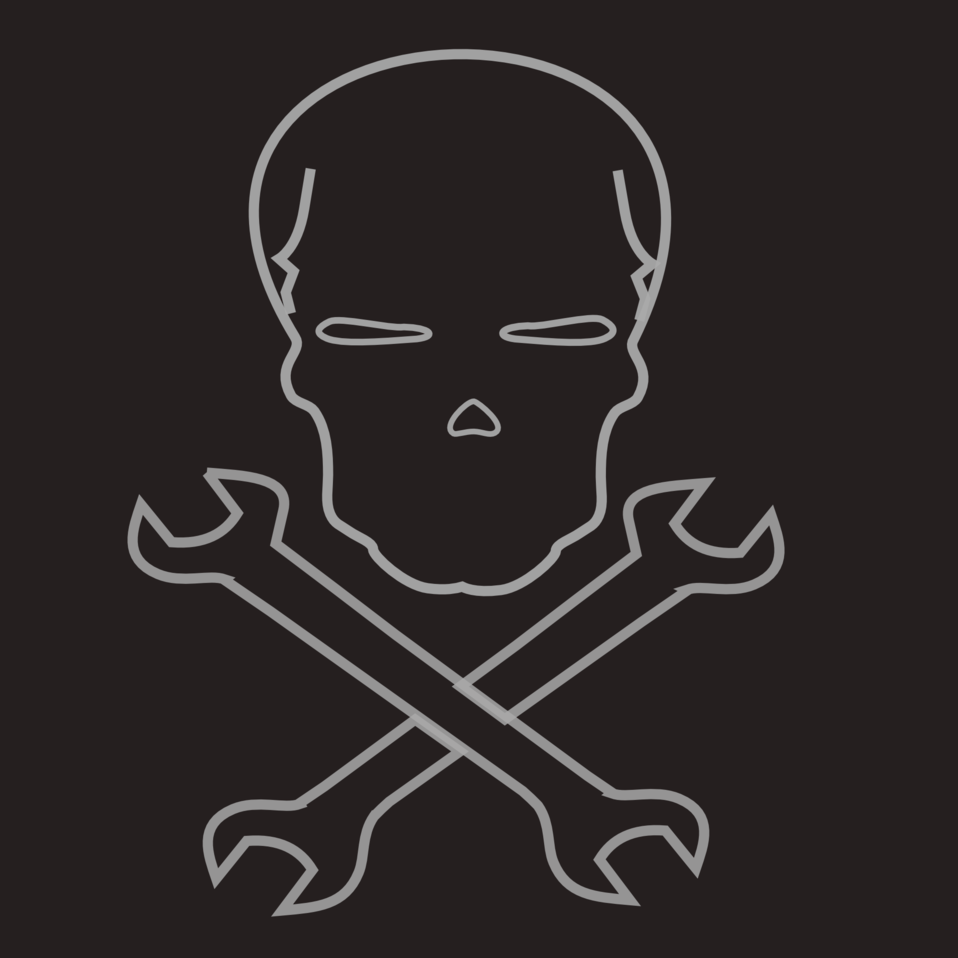 skull and cross wrenches