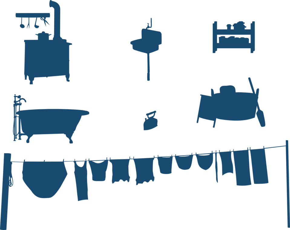 Household silhouettes