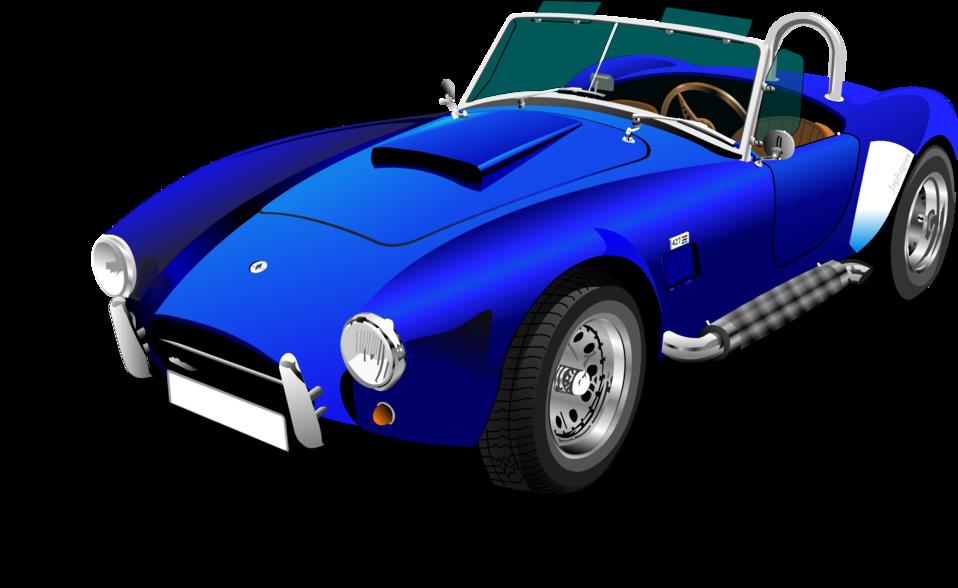 Blue Shelby Cobra