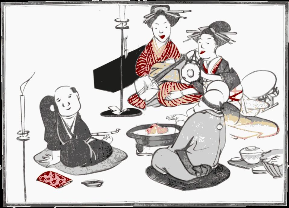 Geisha Entertain