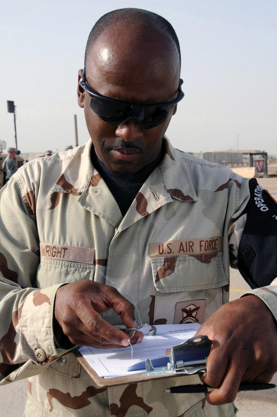 Ali Airmen keep creepy crawlies contained