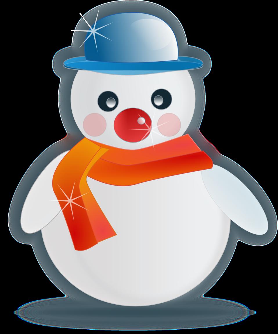 Snowman glossy